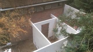Nieuwbouw - aanbouw tuin
